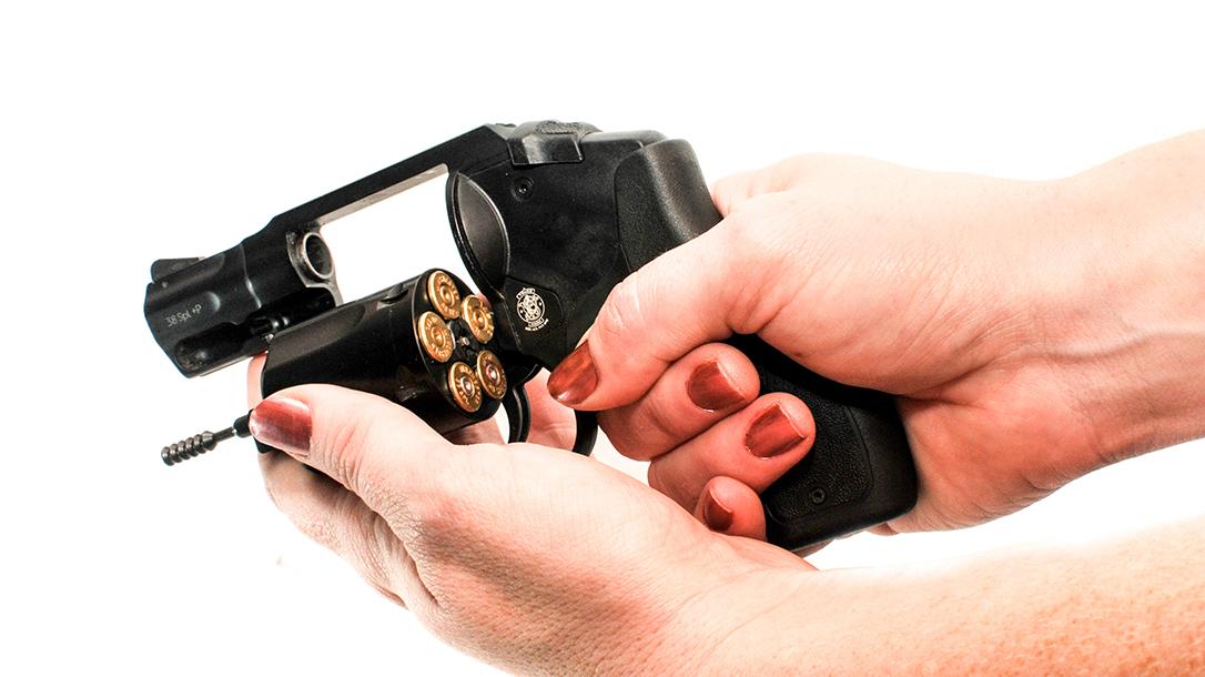 firearm safety, revolver