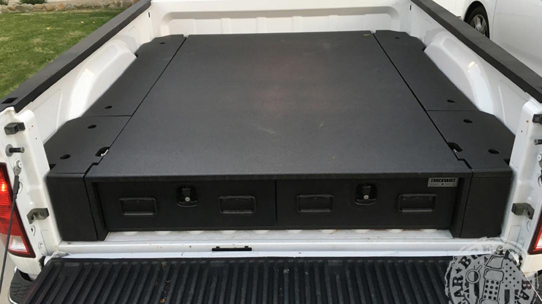 gun storage devices, TruckVault Extreme Series
