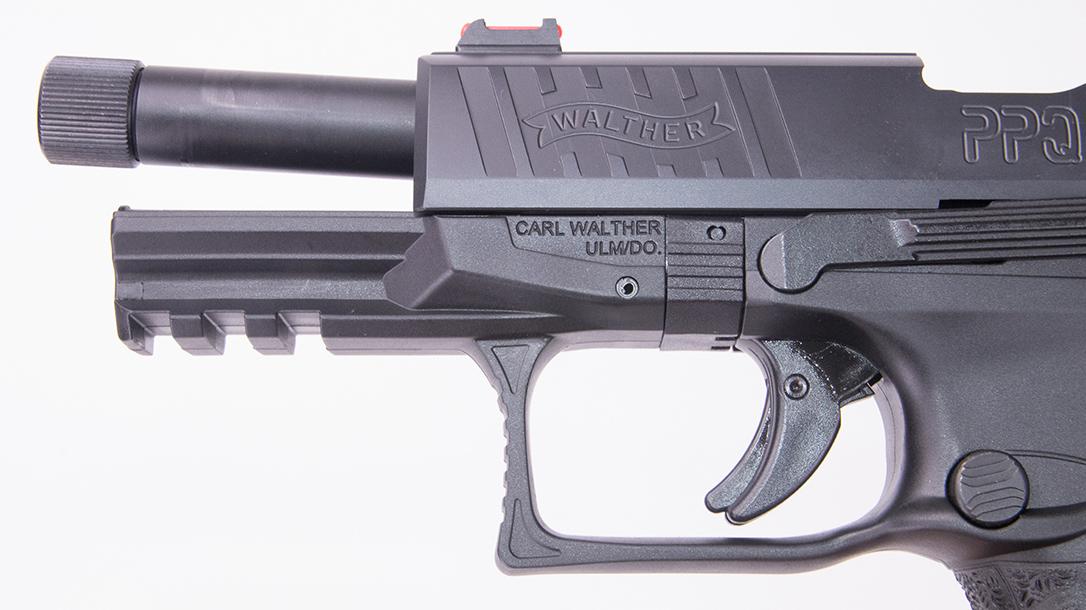 Walther PPQ Q4 TAC Pistol barrel