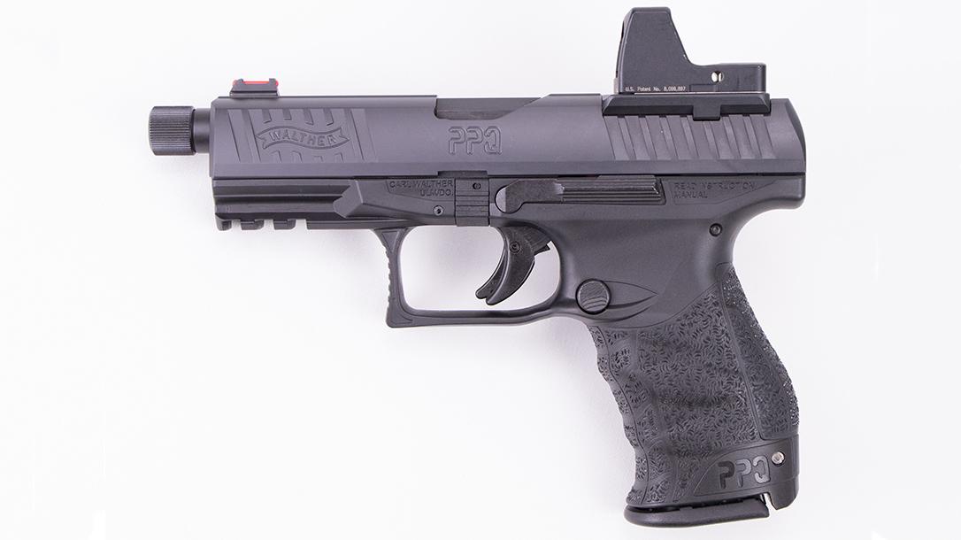Walther PPQ Q4 TAC Pistol left profile