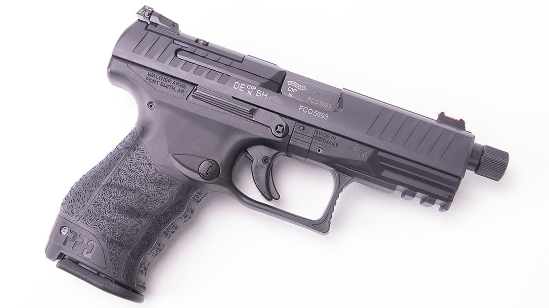 Walther PPQ Q4 TAC Pistol right profile