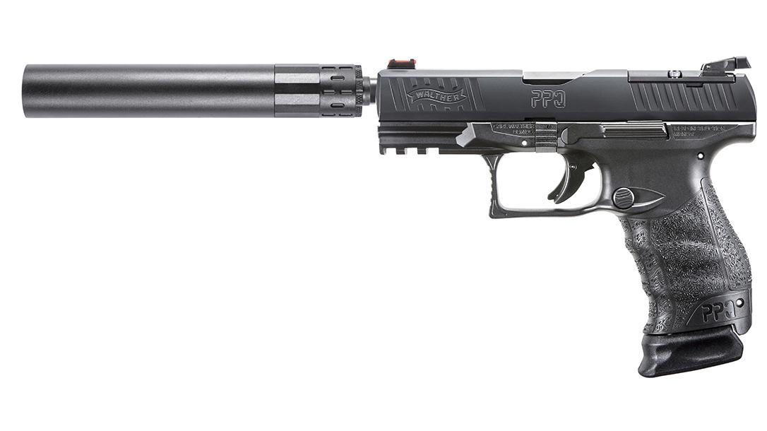 Walther PPQ Q4 TAC Pistol suppressor