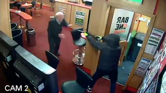 Armed Robbers Ireland, Armed Robbery, Great Grandfather foils heist
