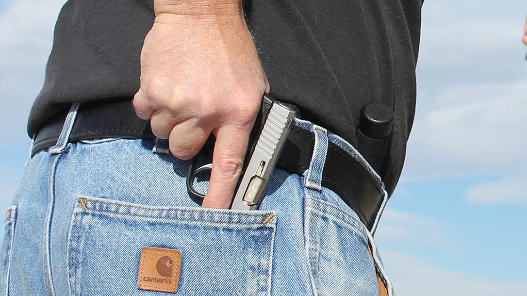Defensive Gun Uses. Defensive Gun Use, Handgun draw