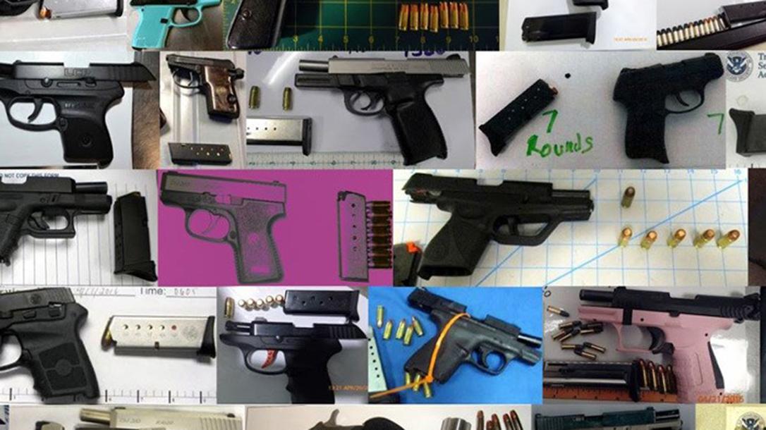 TSA, guns at airports