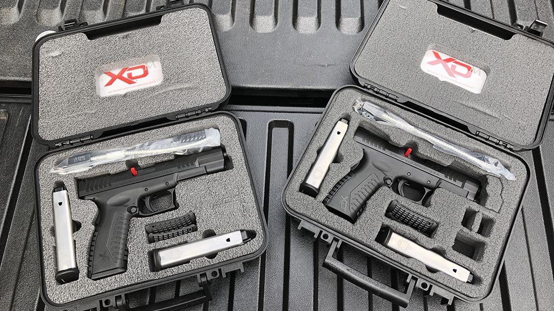 Springfield XDM 10mm Pistol release