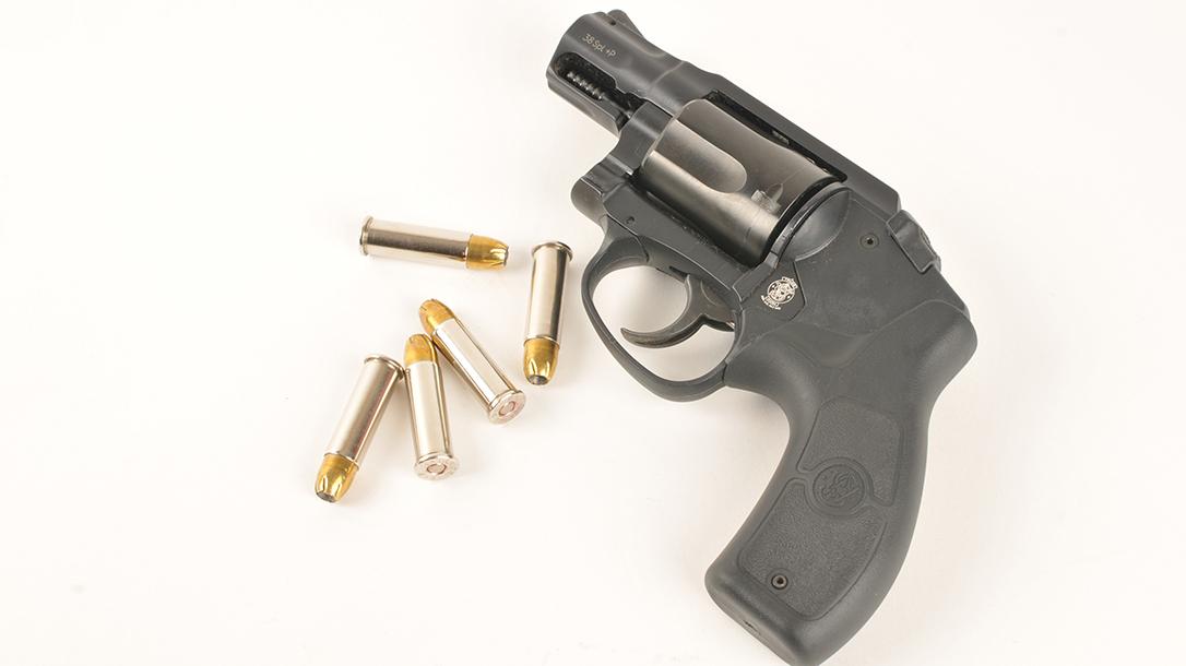semi-auto pistols, revolver