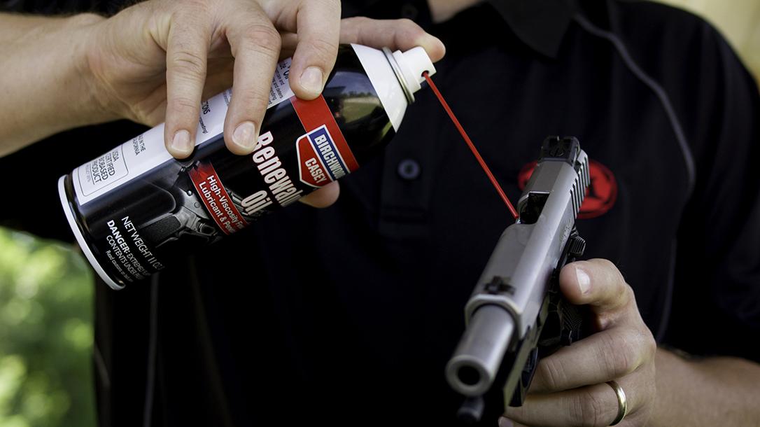 Clean Your Gun, oil