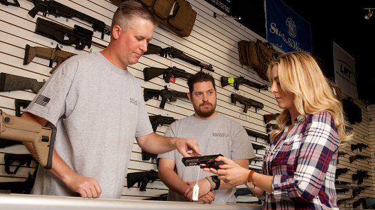 Households Purchasing Firearms during coronavirus pandemic, gun store, FBI NICS 2020