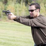 Long-Range Handgun Shots, revolver
