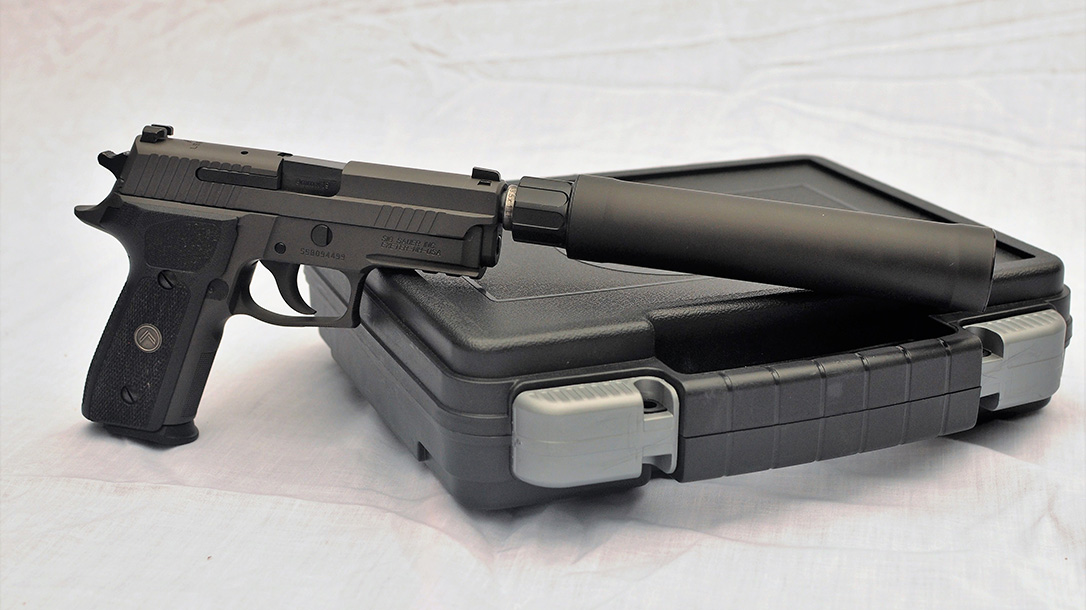 Sig Sauer P229 Legion, Suppressor