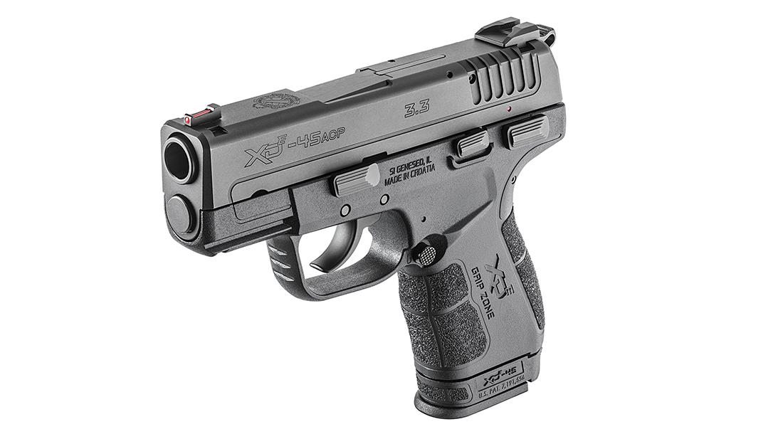 personal protection handguns, Springfield XD E .45 ACP