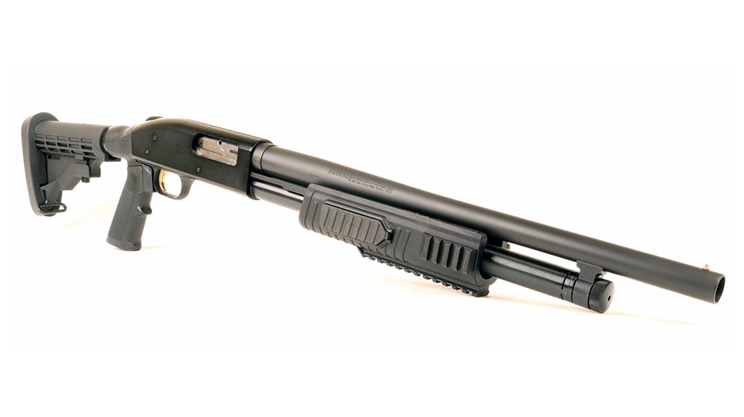 Home-Defense Weapons, pump shotgun