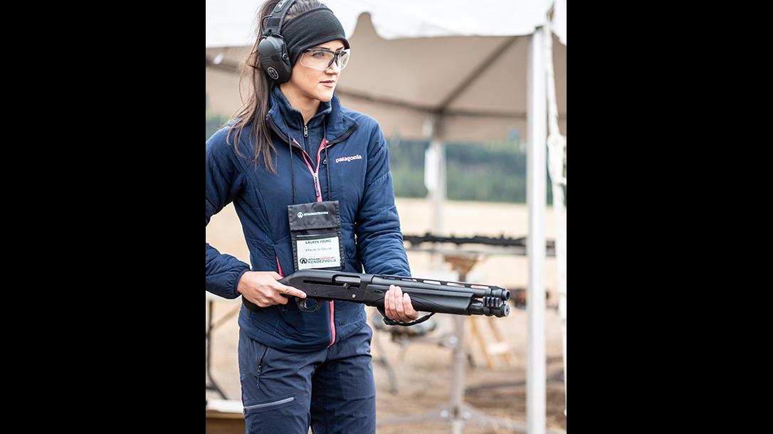 Remington V3 Tac-13 review, Lauren Young