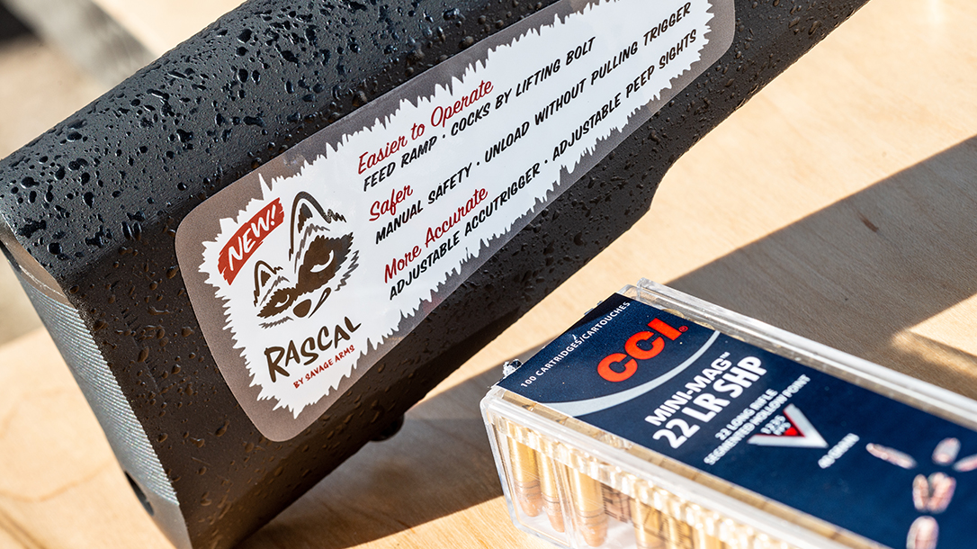 Savage Arms Rascal Target XP Rifle, rimfire, stock