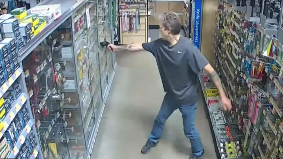 Washington Carjacker, Walmart, Concealed Carry