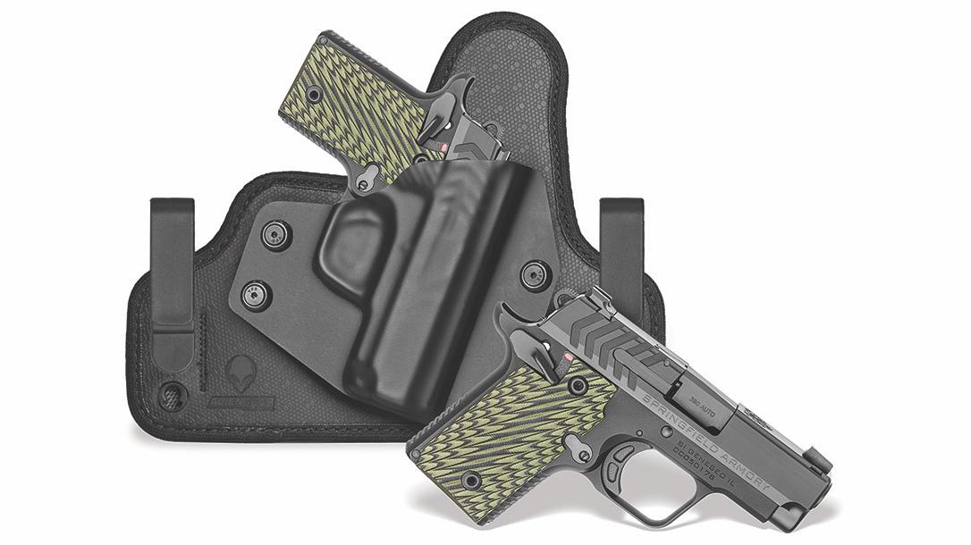 Springfield 911 Pistol, Alien Gear holster