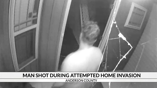 Anderson County Woman Shoots Intruder