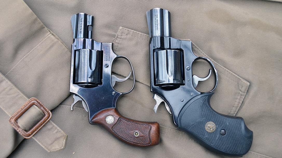 Snub Nose Revolvers, pair