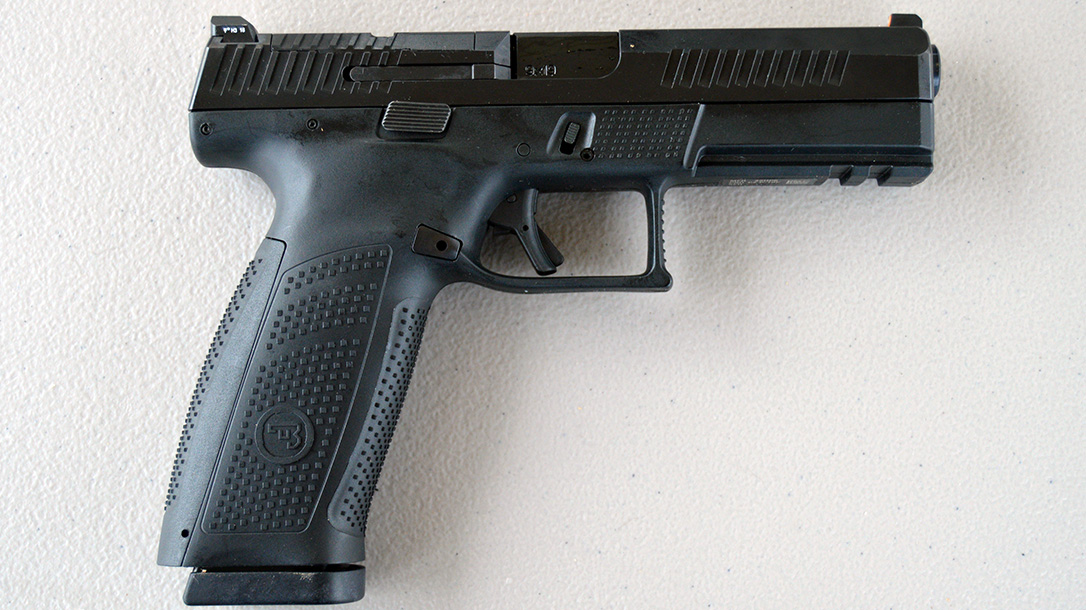 CZ P-10 Pistol, full size right