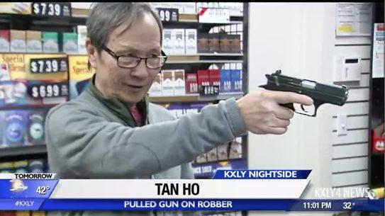Spokane Store Owner Runs Off Robber