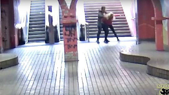 Young German Woman Fights Off Attackers