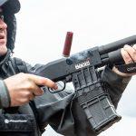 Mossberg 590M Shockwave Shotgun, Athlon Outdoors Rendezvous, range