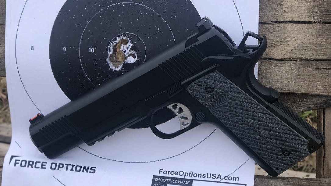 Springfield RO Elite Operator, target