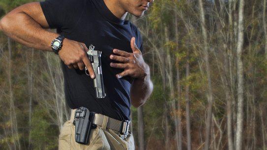 handgun draw mistakes, draw
