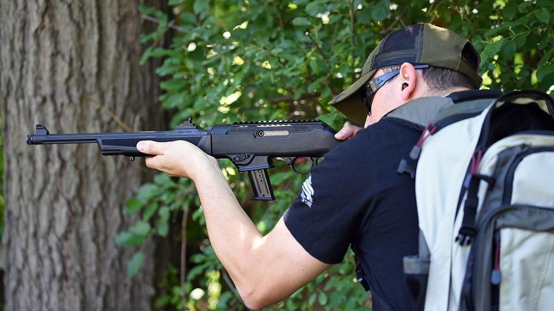 Ruger PC Carbine, firing
