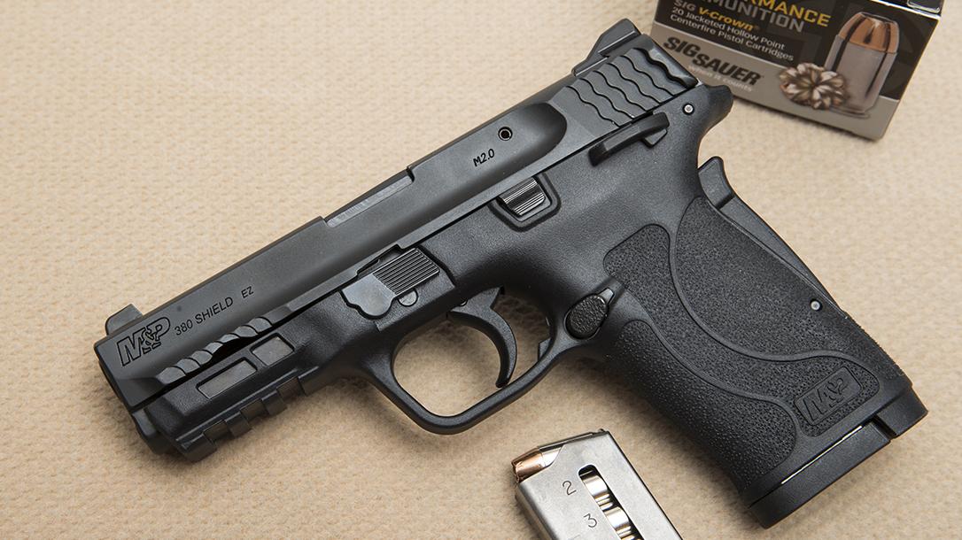 Best Handguns of 2018, M&P380 Shield EZ