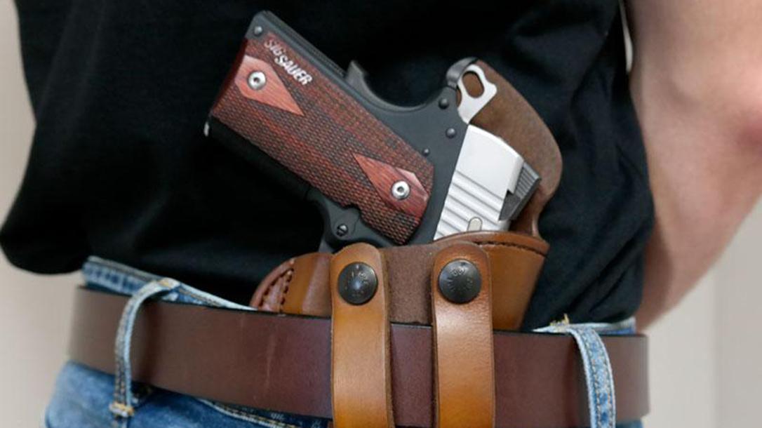 Wright Leather Works Closer IWB Holster, belt