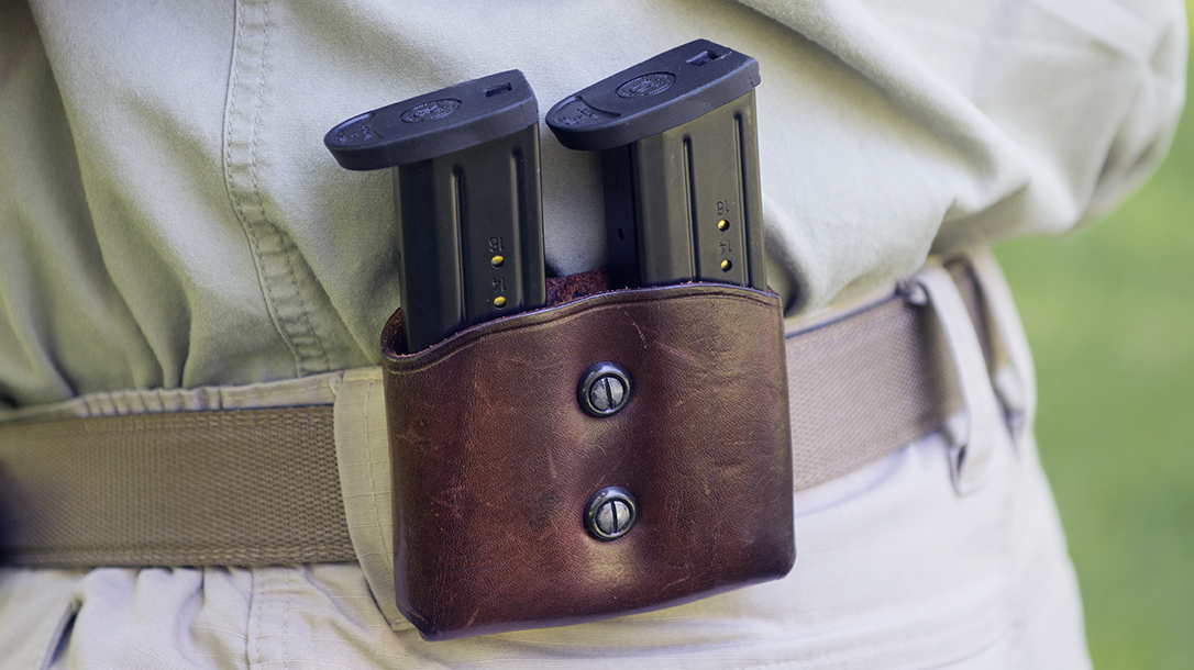 Handgun Magazines, dual carrier