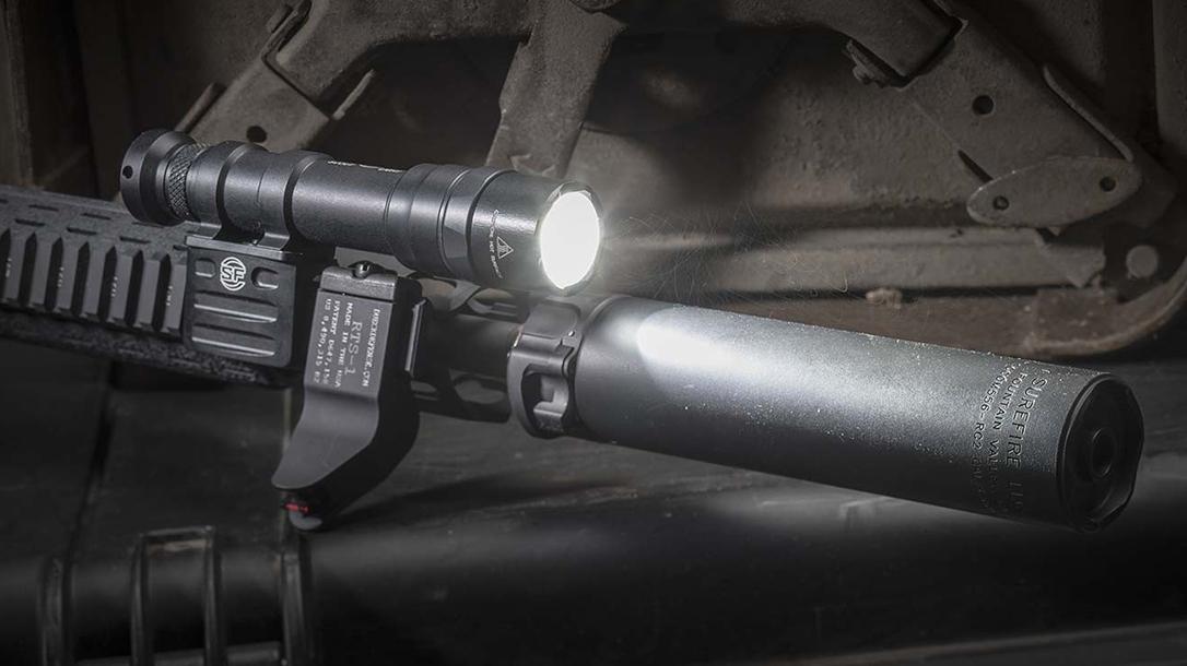 SureFire Lights, M600DF With Suppressor