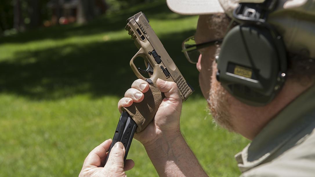 Handgun Magazines, Reloading