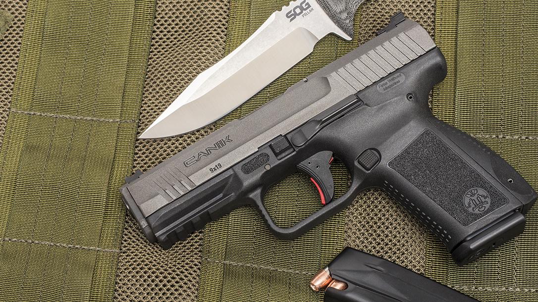 5 Handguns Under $600, Canik TP9SF Elite
