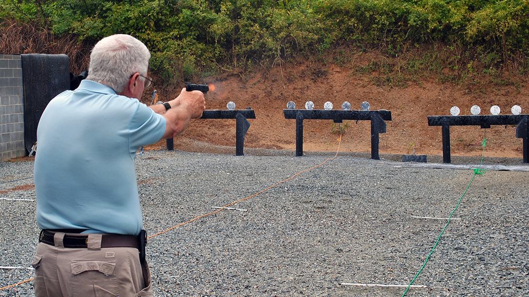.22 LR Pistols, Plate Rack Drill