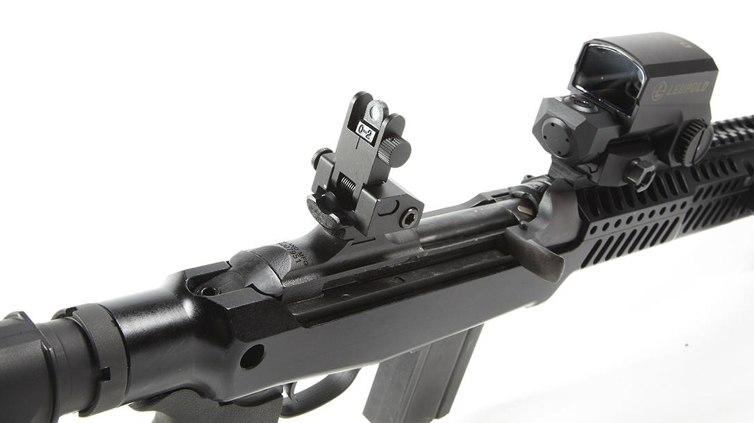 Inland M30-P, rear sights