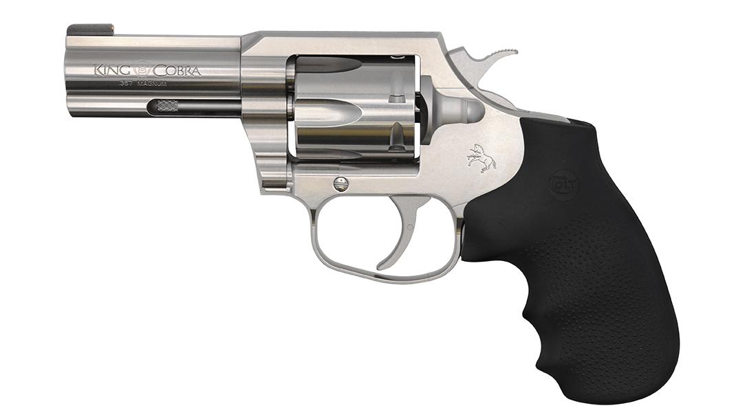 snake gun, .357 Magnum revolver, re-release, left