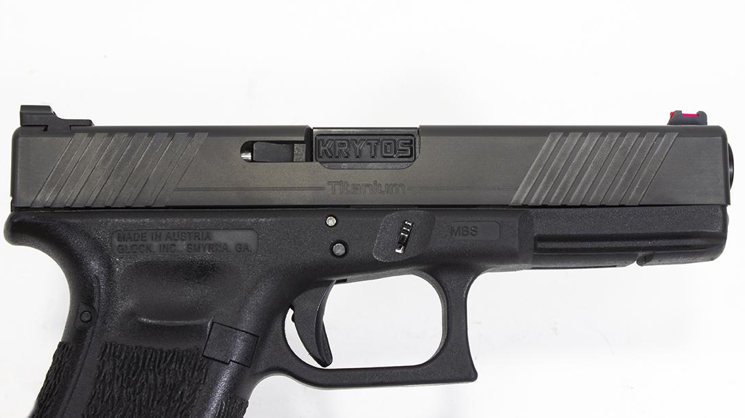 Krytos T17, on Glock