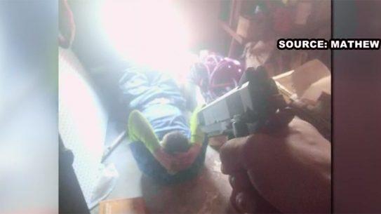 Charleston Homeowner Holds Intruder