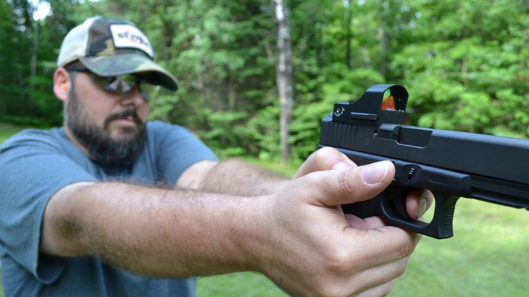 Styrka S3 Red Dot Sight, shooting