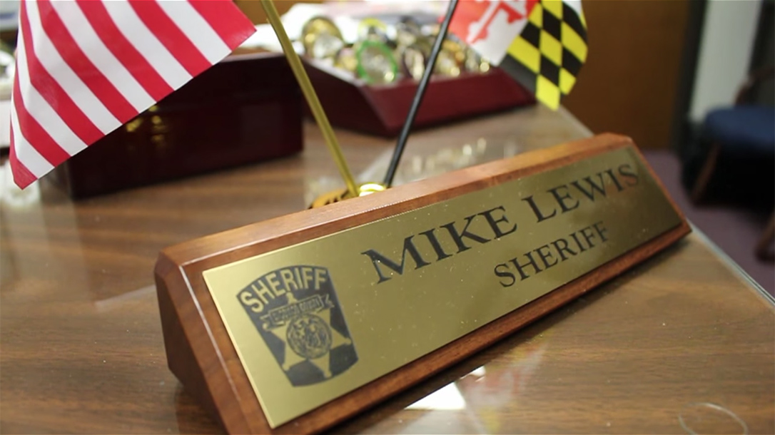 Wicomico County Sheriff Mike Lewis