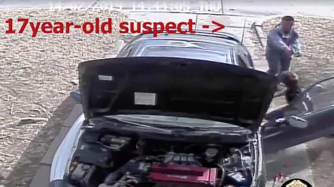 Wichita Teen Grabs Open Carry Gun