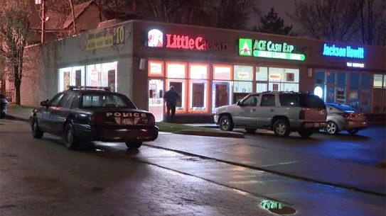 Cleveland Pizza Employee Exchanges Fire With Robbers