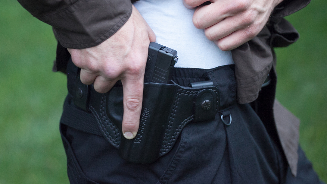 Strong Side Carry, holsters