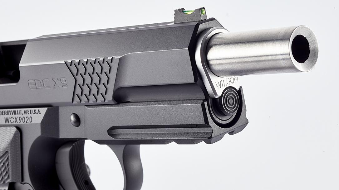 Wilson Combat EDC X9L Pistol, Full-Size Wilson Combat EDX X9, barrel
