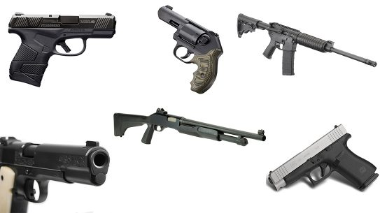 Guns for Home Protection, handguns, rifles, shotguns