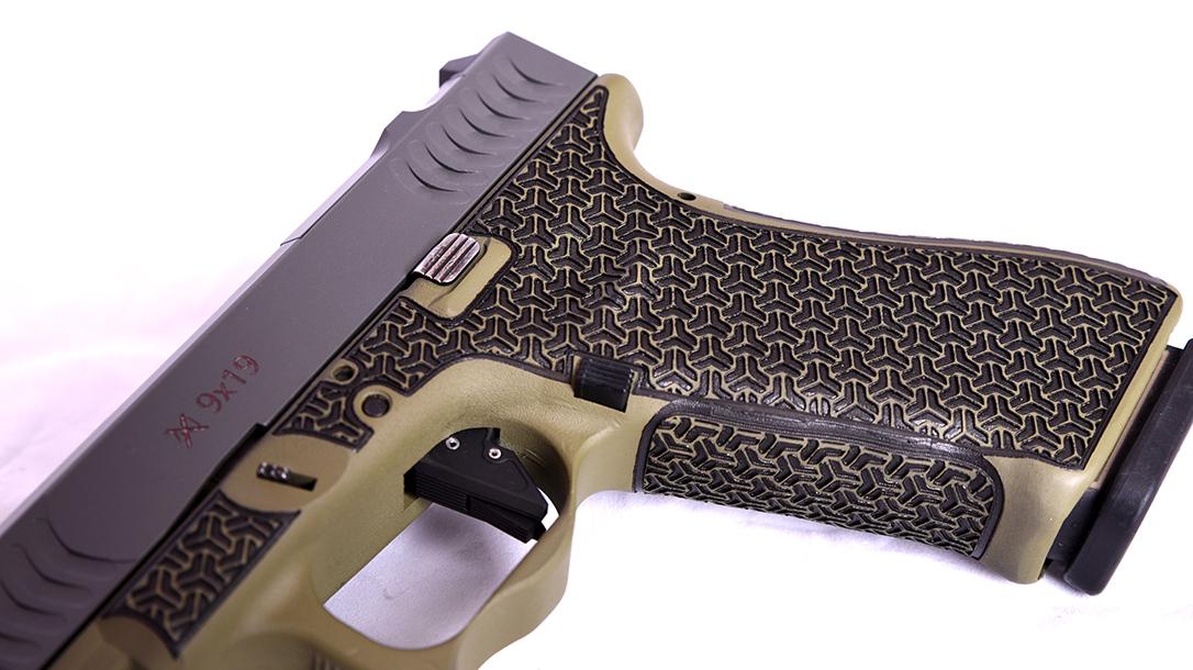 Glock 22 9mm conversion, Glock 22 RTF2 pistol, grip