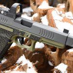 Glock 22 9mm conversion, Glock 22 RTF2 pistol, right